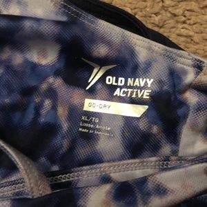 Old Navy built in sports bra workout tank top